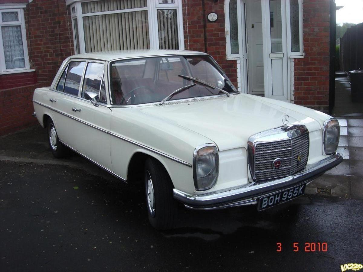 Hello from uk w115 owner mercedes benz forum for Mercedes benz w115 for sale