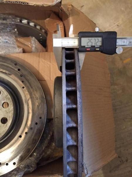 OEM Turbo drilled discs8