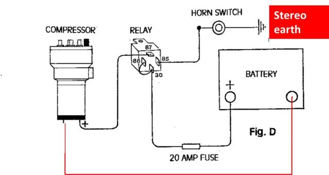 wiring diagram for air horns efcaviation com wiring maserati air horns wiring diagram for dixie air horns